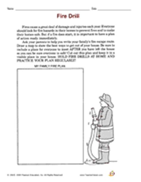 fireboat worksheets fire safety prevention printables activities k 12