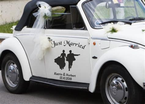 Auto Sticker Hochzeit by Autoaufkleber Hochzeit Tanzendes Brautpaar