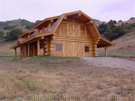 Log Cabin Style House Plans by Custom Log Home Special Construction Features Pioneer