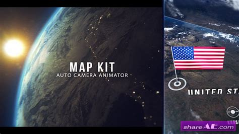 Videohive 3d Interactive Earth Globe 187 Free After Effects Templates After Effects Intro 3d Globe After Effects Template