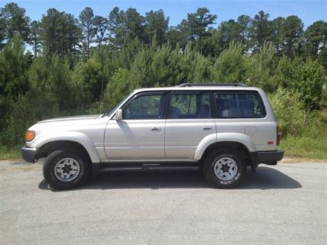 buy used 1991 toyota landcruiser clean fj80 garaged kept in new bern north carolina united