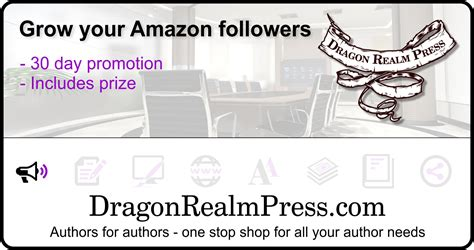 Amazon Giveaway Promotion - amazon giveaway promotion dragon realm press