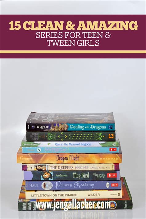 8 Great Book Series For Tweens by Jen Gallacher Amazing Books For Tween And Early