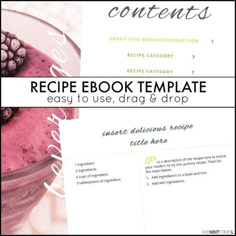 publisher recipe template 107 best images about and next comes l blogging resources