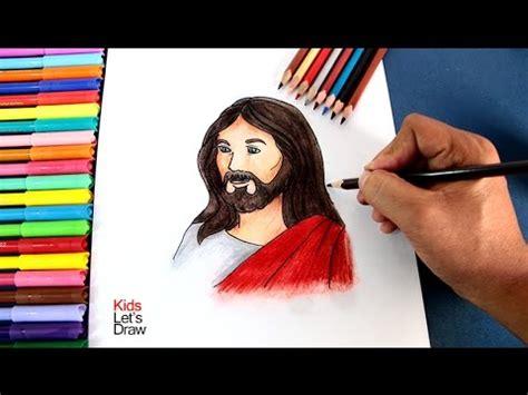 imagenes de jesus para dibujar c 243 mo dibujar a jes 218 s paso a paso f 225 cil how to draw