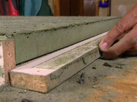making a bar top how to build a concrete countertop how tos diy