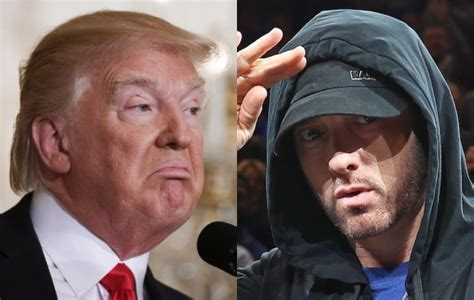 eminem donald trump eminem says donald trump has quot brainwashed quot his supporters