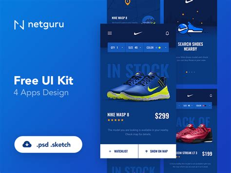 ecommerce app ui free psd download download psd free shoes ecommerce mobile app ui kit free psd at freepsd cc