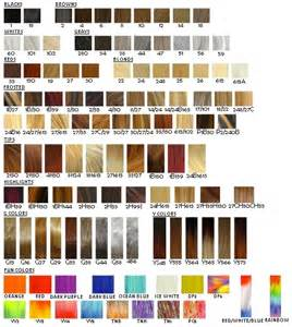 ion hair color chart ur hair cut hair color and hair struture on behance
