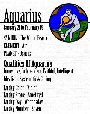 Born Lucky Definition | aquarius horoscope love compatibility for aquarius man and