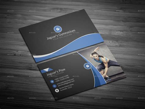 fitness business cards template fitness business cards unlimitedgamers co