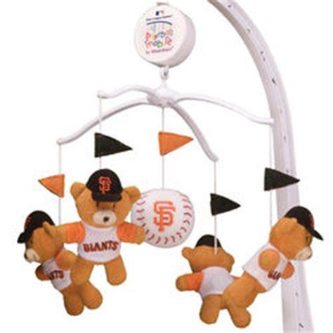 Baseball Baby Crib Mobile by San Francisco Giants Baseball Musical Crib Mobile