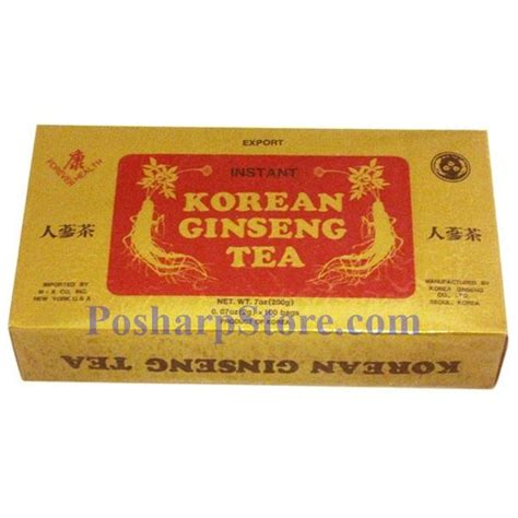 Korean Ginseng Tea forever health instant korean ginseng tea 7 oz