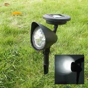 solar gartenbeleuchtung 2er set led solar strahler solar spot light gartenspot