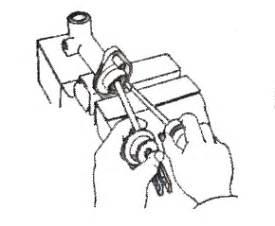Karet Boot Pada Fork Kopling mekanisme kopling otomotif mobil sepeda motor