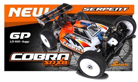 Serpent Cobra Srx 8 serpent model racing cars news cobra srx8 designer billy easton