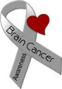 brain cancer ribbon color brain cancer awareness