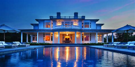 hamptons home prices fall    business insider