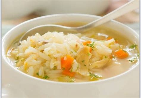 chicken soup with rice classic chicken and rice soup trusper