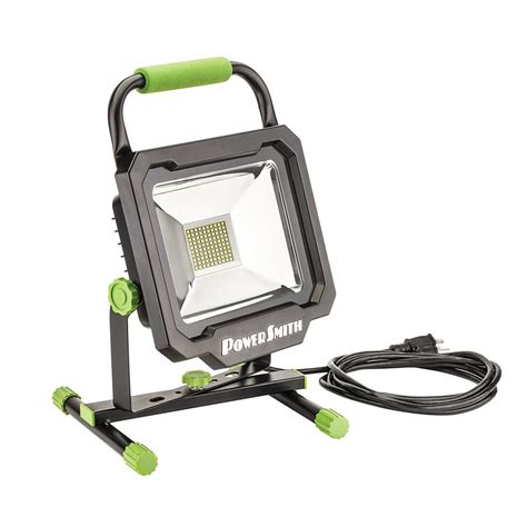 work light powersmith 50 watt 5000 lumens portable led work light