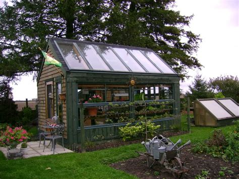 build green home shed blueprints greenhouse shed plans the right tool