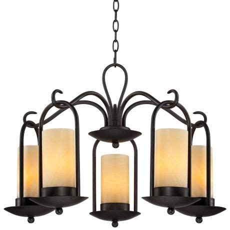 Outdoor Candle Chandeliers Onyx Faux Candle 30 Quot Wide Espresso Outdoor Chandelier