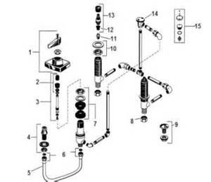 American Standard Bidet Faucet Parts by Order Replacement Parts For American Standard 3325