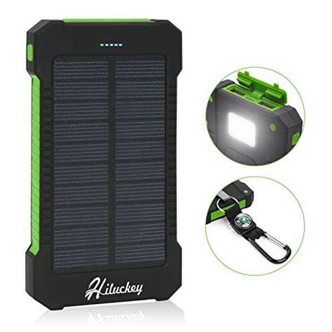 rugged solar panels best solar charger hiluckey 10000mah solar power bank waterproof portable solar panel energy