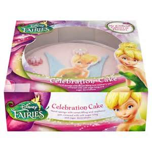 Disney Fairies Celebration Cake Groceries Tesco Groceries