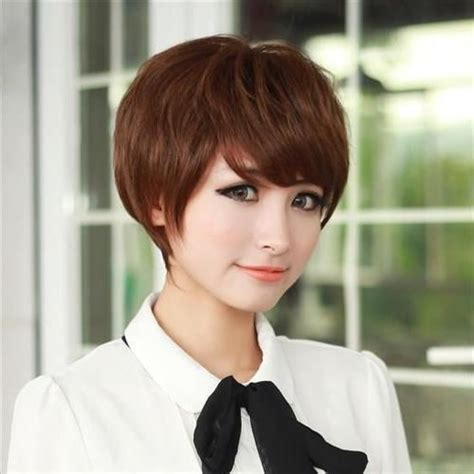 videos korean girls get new short haircuts in salon 15 best collection of korean girl short hairstyle