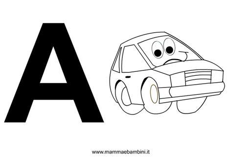 disegni con le lettere lettere dell alfabeto da stare con disegni mamma e