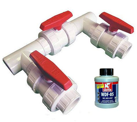 Faucet Flow Rate Boiler Valve By Pass Kit Swimming Pool Heating Pool