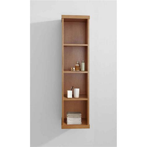 Vanity With Linen Cabinet by Virtu Usa Hewitt 12 Vanity Side Linen Cabinet With Free