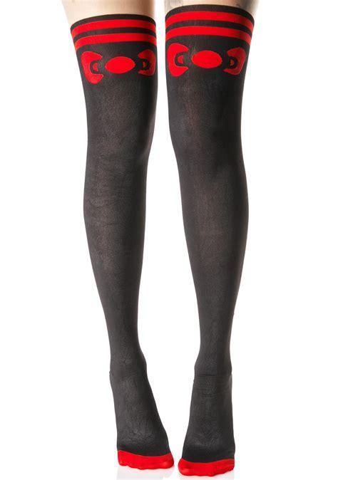 Legging Legging Legging Hellokitty hello bow tights dolls kill