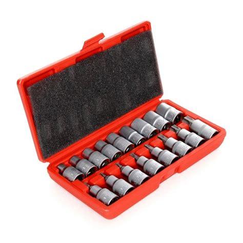 Tekiro Socket Set 120 Pcs pi n120 torx torx e bit socket set 17 pcs for sale in mullingar westmeath from pol import