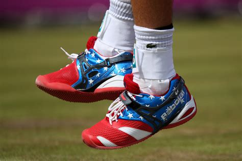 the sneakers andy roddick is rocking the coolest shoes at the u s open