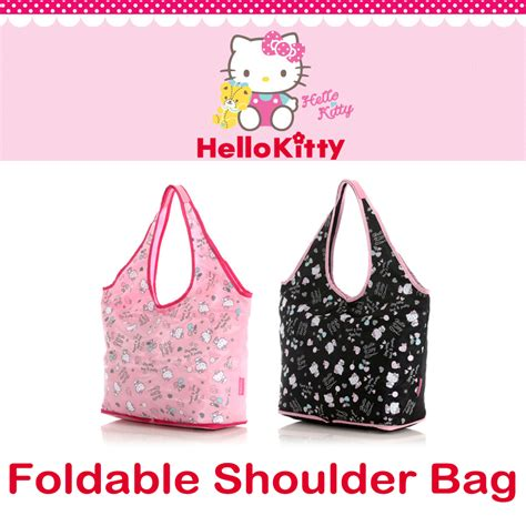 Tas Mini Hello hello foldable shoulder bag mini pouch easy to