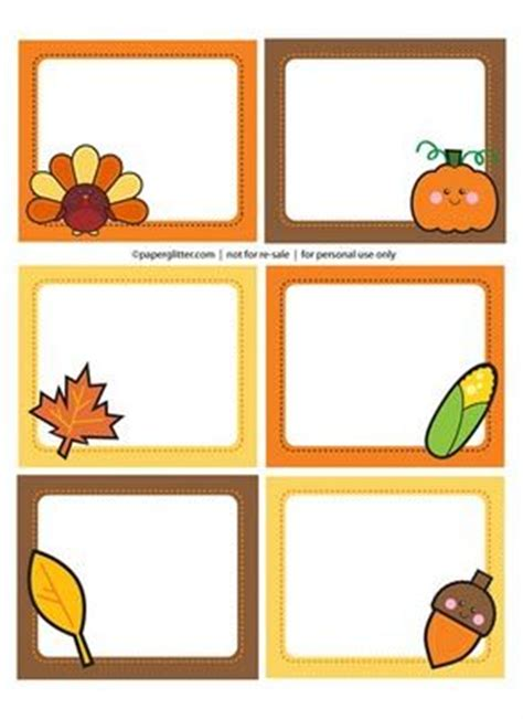 free printable turkey name tags pin by alicia westerman on kids crafts for fall pinterest