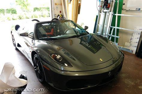 chrome ferrari f430 chrome f430 ferrari wrap wrapfolio
