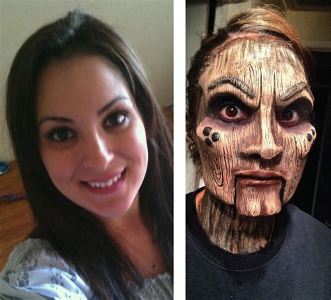 salon makeover turns man into woman woman s incredible makeover turns her into a wooden doll