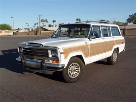 1989 Jeep Grand 1989 Jeep Grand Wagoneer 4x4 No Reserve For