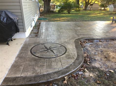 backyard concrete cost 1000 ideas about sted concrete patio cost on