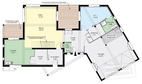 Plan De Maison Moderne by Grande Maison Moderne Hqe D 233 Du Plan De Grande