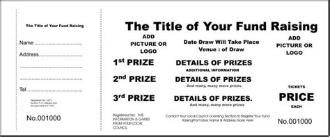 Raffle Ticket Printing Print Custom Raffle Tickets Party Invitations Ideas Blank Raffle Ticket Template