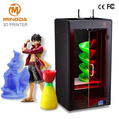 3d color printer dhl free shipping high accuracy mingda metal 3d