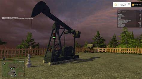 oil pump  crude oil produkton  fs  farming simulator   mod