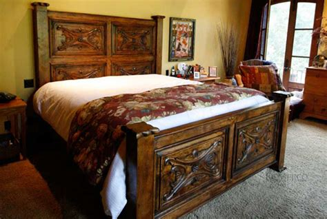 spanish for bed colonial headboard luis quince bed demejico