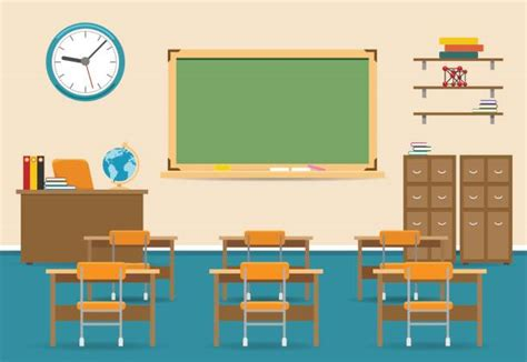 classroom clipart royalty free empty classroom clip vector images