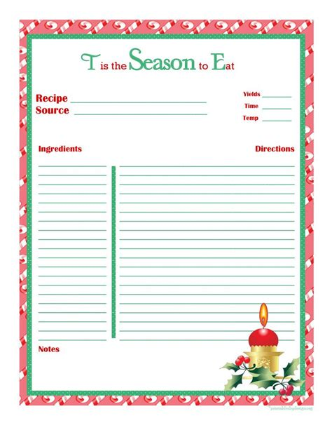free alzheimer recipe card template recipe card page free recipe cards