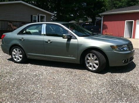 lincoln mkz tires sell used 2008 lincoln mkz moss green mileage 50056